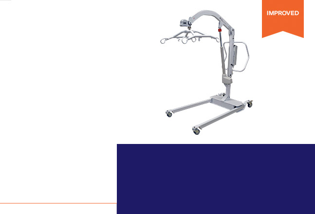 View our Best-in-Class Value Bariatric Lift, the Hoyer® HPL700